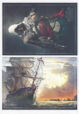 Assassin's Creed IV 4 Black Flag 2 lithographs in a protective envelope *NEW!*