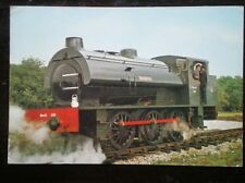 POSTCARD R.S.H 0-6-0 SADDLE TANK LOCO NO 150 WARRINGTON - SERVED WITH THE WAR DE