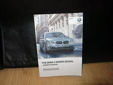 2016 BMW 5 SERIES SEDAN   OWNERS MANUAL BOOK ( OEM )