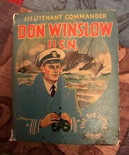 BLB Vintage 1935 Big Little Book - Lieutenant Commander Don Winslow USN 1107