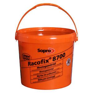 Sopro Racofix 8700 Schnellmontagemörtel Blitzzement Schnellzement Mörtel