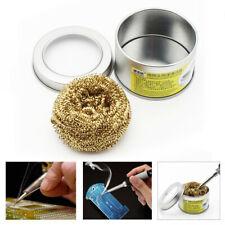 Practical Soldering Iron Tip Cleaner With Brass Wire Sponge No Water Needed UK