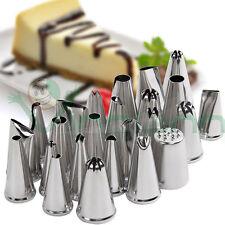 Set kit 24 beccucci punte sac a poche decorazione torta dolci cup cake design GR