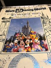 Beautiful Walt Disney World 20 Magical Hardcover Souvenir Photo Book.