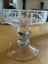 More details for emma bridgewater black toast small glass candle holder
