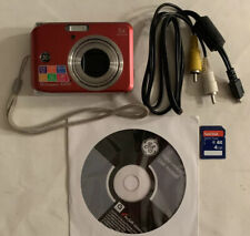 Ge A1050 10.1Mp Digital Camera Kit Red, Includes 4Gb Sd, Cd Manual, and Cord