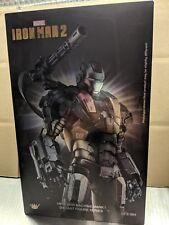 King Arts War Machine Mk1 1/9 diecast figure US seller Iron Man 2