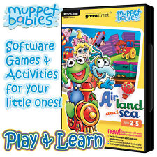Muppet Babies Air, Land & Sea Educatinal PC game for young children 2+