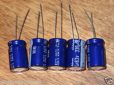 5 x  330UF 63V ELECTROLYTIC CAPACITOR  CAP QTY:  5