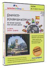 Kindersprachkurs Spanish Learn for Children - Onlinekurs