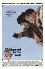 "MARRIED TO THE MOB - 27""x41"" Original Movie Poster One Sheet 1988 Rolled Rare"