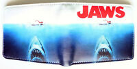 Jaws Horror Movie Bifold Wallet purse id window 2 card slots coin pocket Cartoon