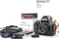 【 N MINT 】 MAMIYA ZD Digital Camera w/ 645 AF 80mm f/2.8 Lens from JAPAN 1247