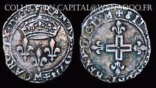 Charles IX Double Sol Parisis 1571M Toulouse TTB+ Argent/Silver