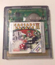 CAESARS PALACE II Retro Nintendo GameBoy Color Video Game Cartridge 1999 GBC GBA