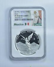 PF70 UCAM 2019-Mo Mexico 1 Onza Silver Libertad - Graded NGC *281