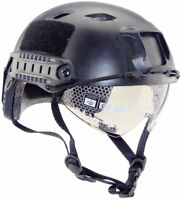 Military Tactics Airsoft Paintball SWAT Protective Fast Helmet With Goggle