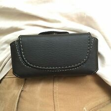 New Leather Black Belt Case for Samsung E250 P310 X830 E900 P300 C300 A500 N620