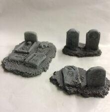 Javis Battle Zone Church Grave Stones. War Gaming. 1/72,1/76 20mm Scale. BZB4