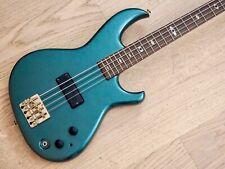 1980s Aria Pro II SB Elite I Phantom Blue Vintage Bass Guitar w/ Bartolini