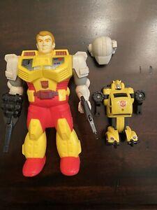 g1 transformers Pretenders Bumblebee Loose Complete