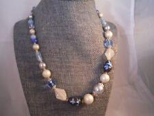Vintage Necklace JAPAN ART GLASS MINT Costume Jewelry Heaven Box J
