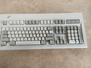 IBM Model M Clicky Keyboard # 1391401 Clean, No Cord