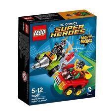 Lego DC Comics Super Heroes Robin vs Bane Mighty Micros Set NIB 77 Pcs