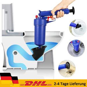 4 Bar Profi Abflussreiniger Pressluft Rohrreiniger Pumpe Druckluft Rohrreinigung