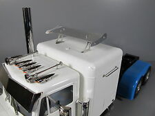 Custom Roof Cab Spoiler Aero Wing for Tamiya R/C 1/14 King Grand Hauler Semi