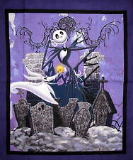 "Disney Nightmare Before Christmas Fabric Jack Skeleton CP54105 34.5""X40"" Panel"
