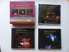 Coffret CD collectors KING CRIMSON Vol 6 Live 1998 1971 2001 PCCY 01583 JAPON