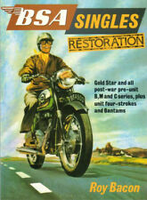 BSA SINGLES RESTORATION BOOK MANUAL GOLD STAR B M C BANTAM BACON RESTORE HOW TO