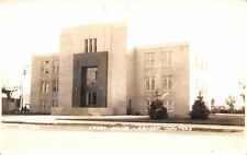 Conrad Montana~Pondera County Court House~Art Deco Design~1940s Rppc