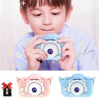 Kid Mini Cartoon Camera 2 Inch Rechargeable Digital Child Camcorder For Outdoors
