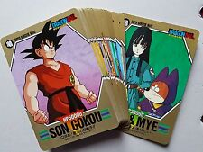Carte Dragon Ball Z DBZ Super Barcode Wars Part 2 #Regular Set BANDAI 1993