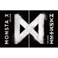 MONSTA X [THE CODE] 5th Mini Album RANDOM CD+PhotoBook+P.Blooket+Card+etc SEALED