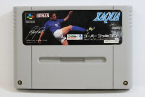 XAQUA Formation Soccer 95 Robert Baggio SFC Super Famicom Import NOT FOR SALE