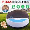 9 Egg Automatic Incubator Low Noise Fan Temperature Control Incubator  K