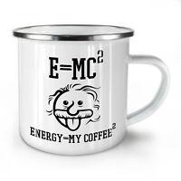 Einstein Coffee NEW Enamel Tea Mug 10 oz | Wellcoda