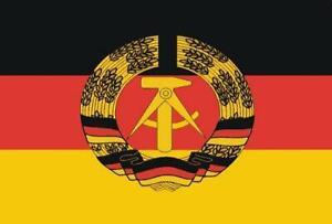 Miniflag DDR 10 x 15 cm Fahne Flagge Miniflagge