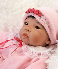 Lifelike Realistic Doll Asian Newborn Weighted Baby Girl Alive Reborn Accessory