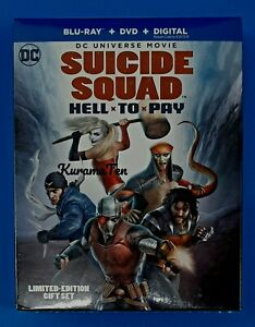 DC Suicide Squad: Hell to Pay Limited Edition Gift-Set Bluray DVD Graphic Novel