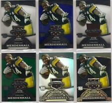 RASHARD MENDENHALL 2008 Bowman Sterling RC Jersey / Ref Part Rainbow - Steelers