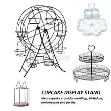 4 Patterns Cupcake Holder 8 Cups Pastry Cake Stand Holder Wedding Decoration