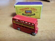 MATCHBOX A MOKO LESNEY Matchbox Originals Bus No. 5 1988