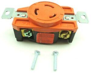Cooper Isolated Ground Single Locking Receptacle NEMA L6-20 20A 250V IGL620R