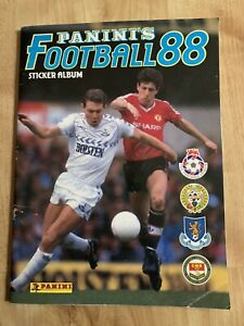 Panini Football 88 Vintage Sticker Album English & Scottish Leagues 271 Of 574