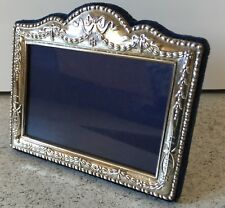"""Hallmarked Silver Photograph Frame For 3.5"""" x 2.5"""" Photo Carrs Sheffield"""