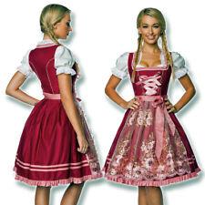 70022 Dirndl Tüll Schürze XS-3XL Trachtenkleid Mini Kleid Oktoberfest Tracht